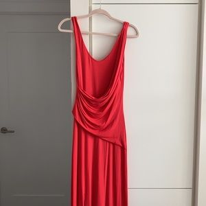 Red Bebe Maxi Dress - Size 6